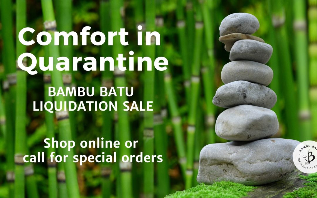 Comfort in Quarantine sale