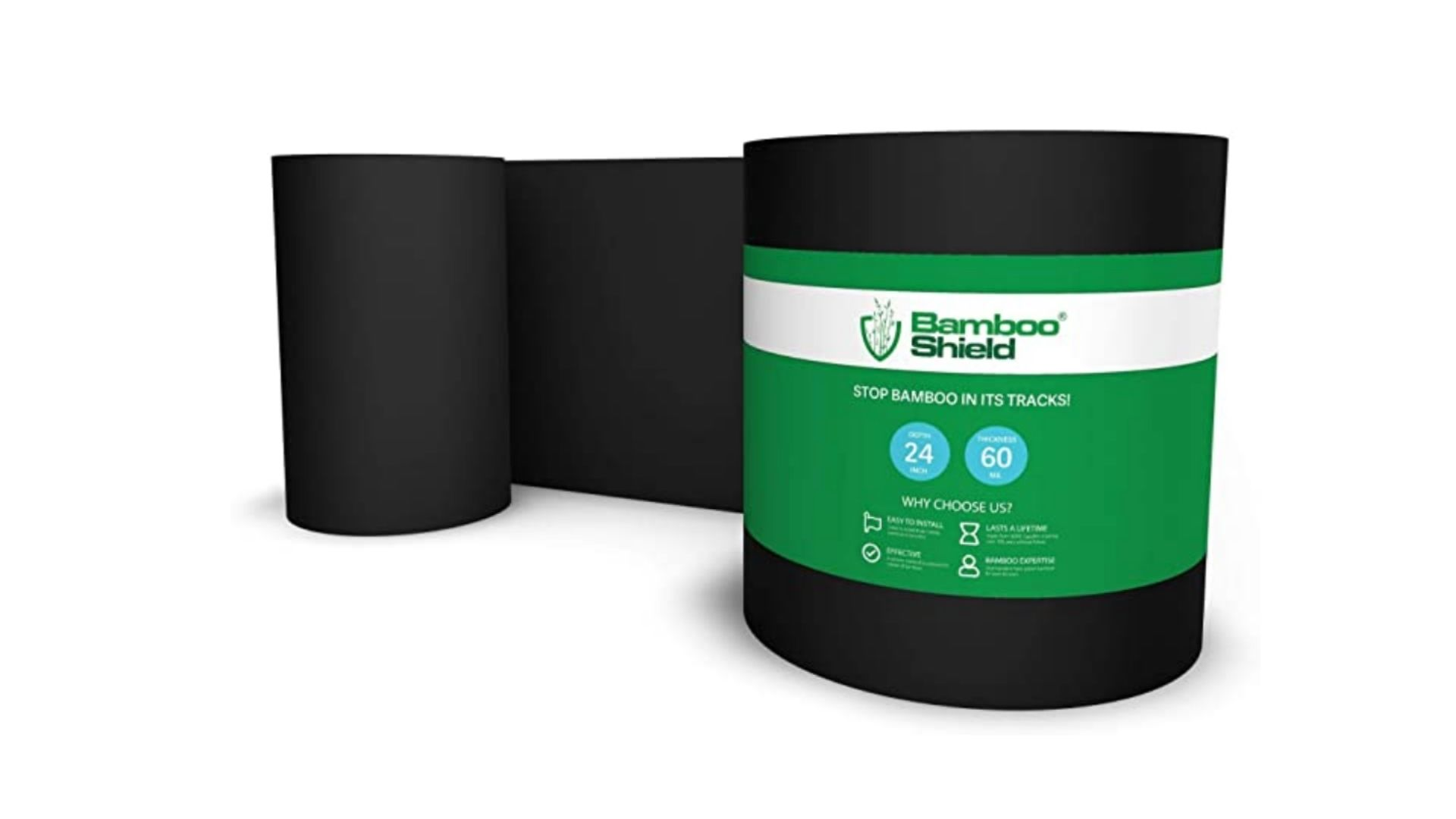 Install bamboo root barrier